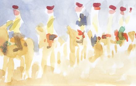 A020 – Camel's Festival, Bikaner, India